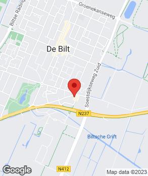 Locatie Garage De Bilt op kaart