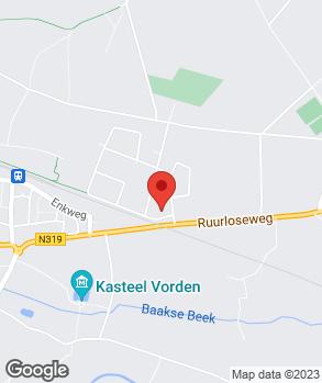Locatie Autobedrijf Robert Nijenhuis op kaart