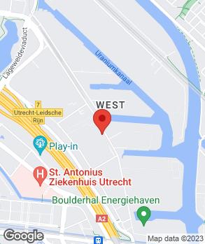 Locatie Holweg auto's op kaart