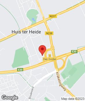 Locatie Ekris Zeist op kaart