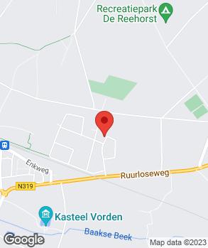 Locatie Bronkhorst Banden & Auto-Styling op kaart