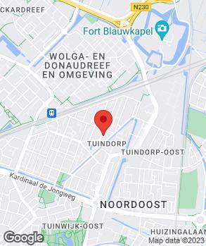 Locatie Autobedrijf Freriks B.V. op kaart