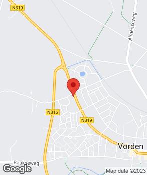 Locatie Autobedrijf Klein Brinke BV op kaart
