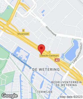 Locatie Lexus Utrecht op kaart