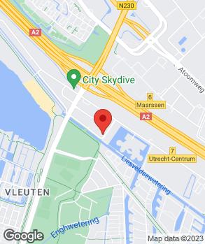 Locatie Universeel Autoschadeherstelbedrijf B.V. op kaart