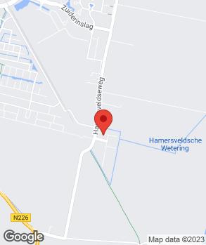 Locatie G. van den Hoek op kaart