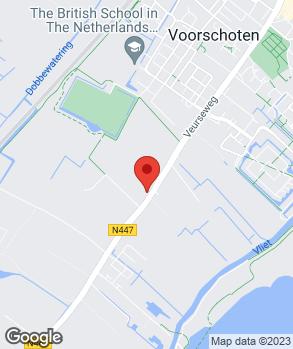 Locatie Automobielbedrijf S. van der Heden op kaart