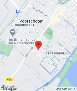Locatie Garagebedrijf Rima op kaart