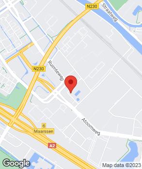 Locatie Kwinkelenberg Automotive B.V. op kaart
