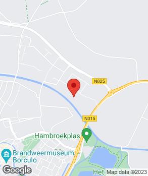 Locatie P.H.H. ten Heggeler op kaart