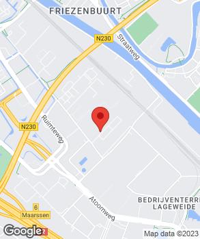 Locatie Joost Motoren op kaart
