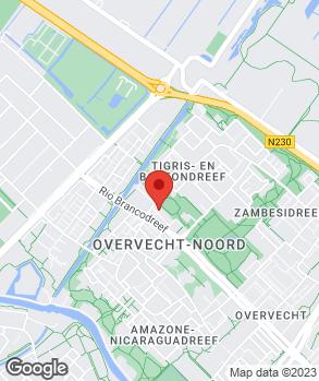Locatie Arezo Euroshop op kaart