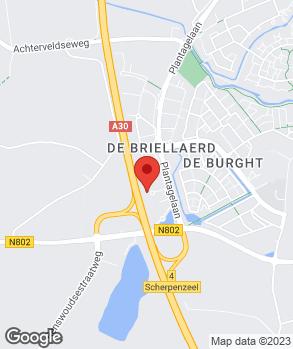 Locatie Autobedrijf van Veen op kaart