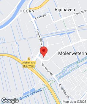 Locatie Van der Boon-Auto's Alphen B.V. op kaart
