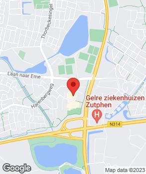 Locatie Segerink & Wolbers Zutphen B.V. op kaart