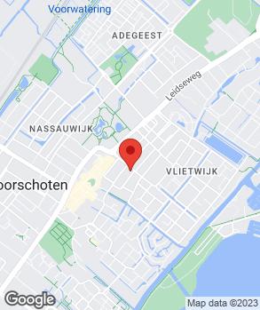 Locatie A.F. autoschade op kaart