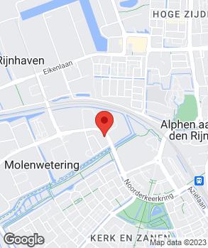 Locatie J & M Broers autobedrijf op kaart
