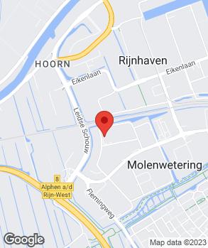Locatie Autobergings- en Garagebedrijf van Oosten op kaart