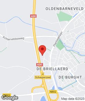 Locatie Carhouse Lagerweij op kaart