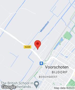 Locatie Autobedrijf Hamers | Vakgarage Hamers op kaart