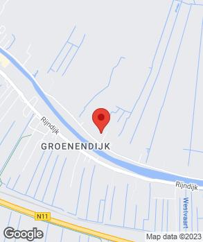 Locatie Garagebedrijf van Aalst Koudekerk B.V. op kaart
