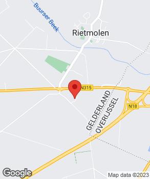 Locatie Auto Bauhuis SOS-diensten op kaart
