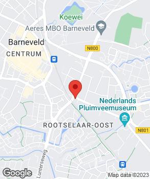 Locatie Autoschadebedrijf van den Brink op kaart