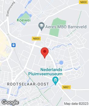 Locatie Autobedrijf Druijff B.V. op kaart