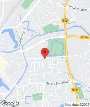 Locatie Autobedrijf Van Gelder B.V. op kaart