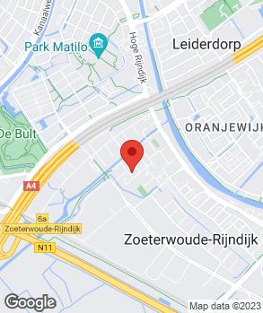 Locatie Autocentrum Wassenaar op kaart