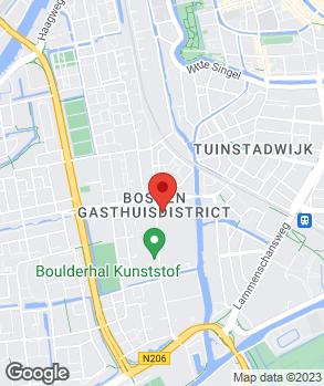 Locatie De Wit Italiaanse Automobielen | Autoschade Service De Wit Leiden-Zuid op kaart
