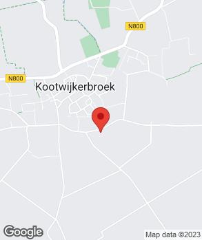 Locatie Budding Auto's op kaart