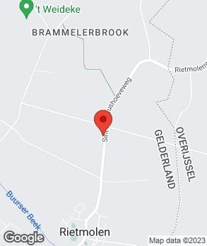Locatie H.S. Borgelink op kaart