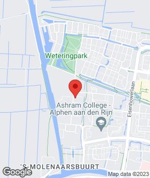 Locatie Autovisie-Alphen op kaart