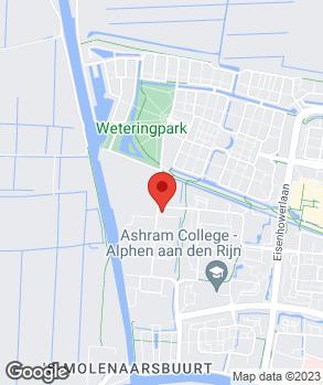 Locatie Euromaster Alphen aan den Rijn op kaart