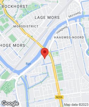 Locatie Autodok op kaart