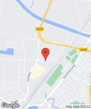 Locatie Carservice Zutphen op kaart
