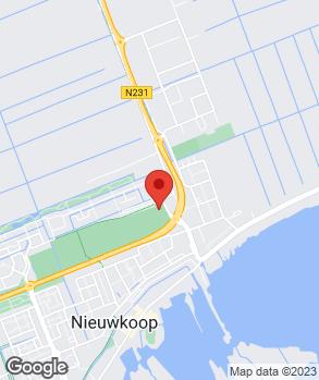 Locatie Maas Auto Groep Nieuwkoop op kaart