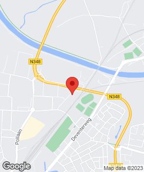 Locatie Ruba Service op kaart