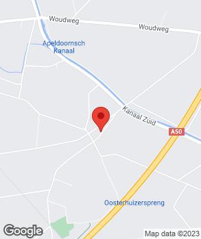 Locatie Automobielbedr. Barendregt Oosterhuizen B.V. op kaart