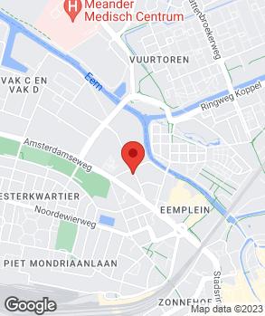 Locatie Handelsonderneming C.J. Oskamp op kaart