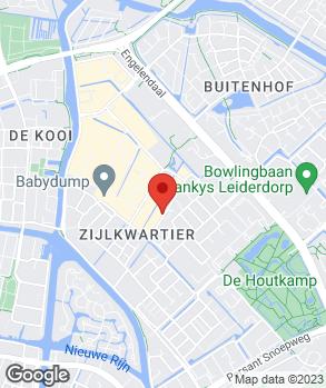 Locatie Eco Auto's Leiderdorp B.V. op kaart