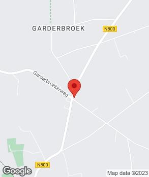 Locatie garagebedrijf Marco van den Brink op kaart