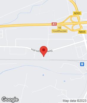 Locatie Van den Heuvel Autoschade op kaart