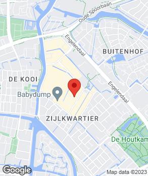 Locatie Van Bunningen Leiden op kaart