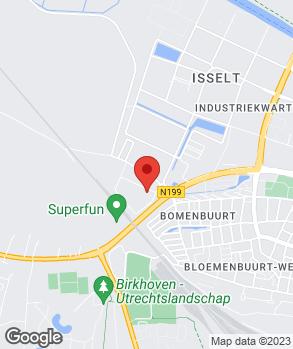 Locatie Bovee Amersfoort op kaart