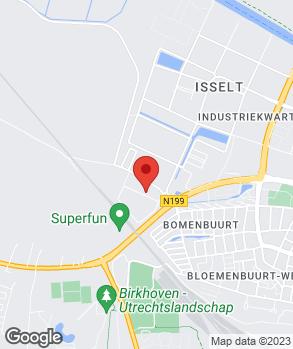 Locatie Autobedrijf Van Daatselaar B.V. op kaart