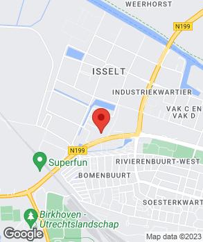 Locatie Automobielbedrijf Henri Nefkens B.V. op kaart
