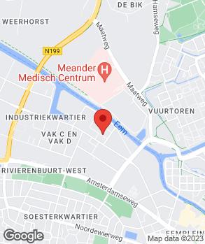 Locatie Garage Huis Eemland op kaart