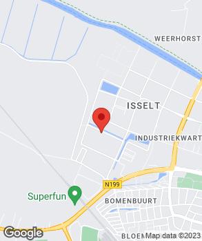 Locatie Broekhuis Amersfoort op kaart